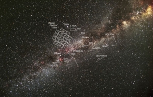 Зона обзора Кеплера (cfa.harvard.edu)
