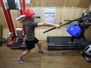 Физические тренировки (фото - http://mars500.imbp.ru)