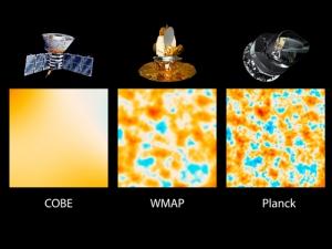 Сравнение разрешения трех космологиеских зондов (jpl.nasa.gov)