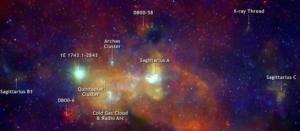 Окрестности нашей черной дыры (vanderbilt.edu)