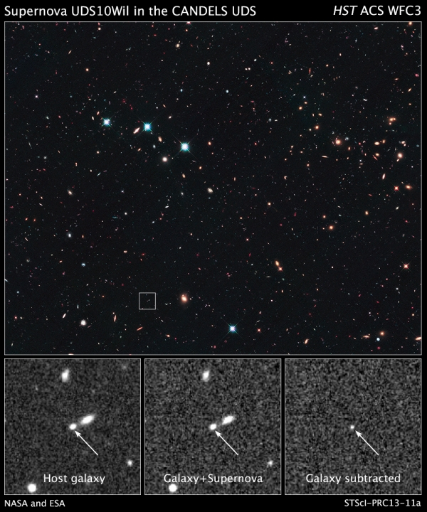 Сверхновая SN UDS10Wil (hubblesite.org)