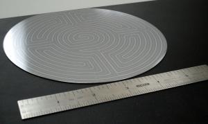 Кремниевая пластина детектора (universetoday.com)