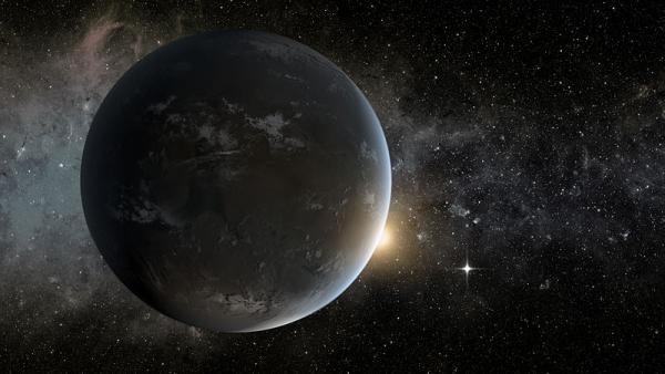 Рисунок одной из планет системы (wikipedia.org)