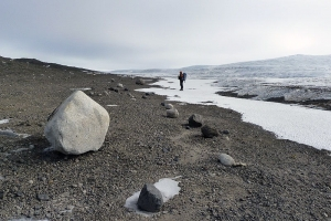 Место встречи вечного ледяного покрова с сушей на Земле (space.com)