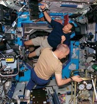 Эксперимент «внутри» МКС (Изображение — interfax.ru)