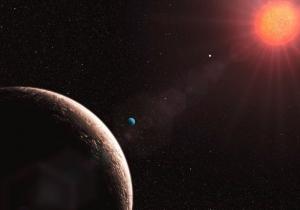 Рисунок легкой планеты Глизе 581е (zhelezyaka.com)
