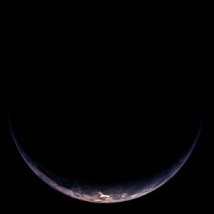 Снимок Земли, полученный Розеттой (фото - esa.int)