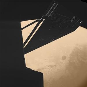 Снимок Марса, полученный Розеттой (фото - esa.int)