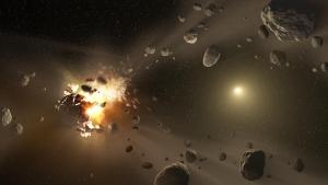 Разрушение астероида (universetoday.com)
