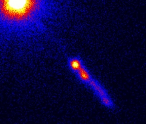 Блазар 3C 273 и его поток частиц (wikipedia.org)