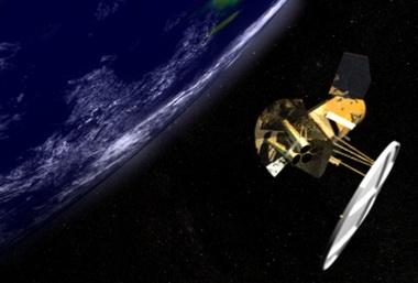 «Климатический» спутник «Aquarius – SAC-D» (Изображение — nasa.gov)