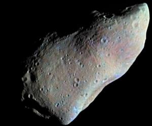 Силикатный астероид Гаспра (wikipedia.org)