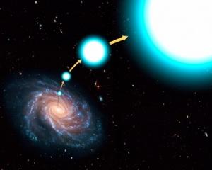 Может запросто вылететь из галактики (universetoday.com)