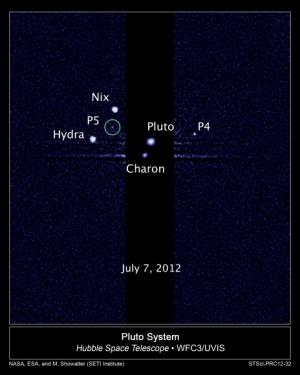 Система Плутона (universetoday.com)