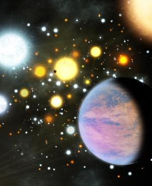 Планеты в густонаселенном скоплении (cfa.harvard.edu)
