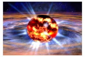 Рисунок рождения нейтронной звезды (space.com)