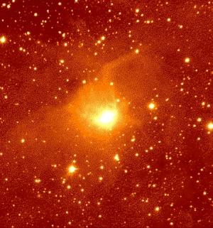 Результат моделирования движения сгустков газа в протопланетном диске (universetoday.com)