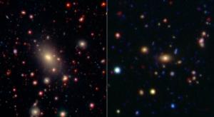 Два скопления галактик (jpl.nasa.gov)