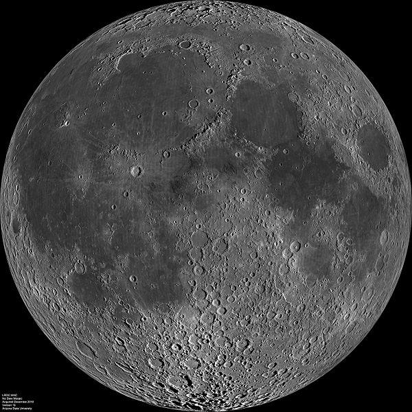 Ближняя сторона Луны (wikipedia.org)