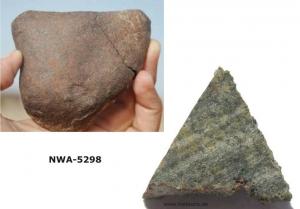 Метеорит NWA 5298 (b14643.de)