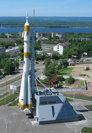 Памятник ракете в Самаре (wikipedia.org)