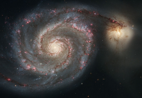Галактика М51 (wikipedia.org)