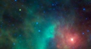 Астероид проходит перед туманностью Орион (nasa.gov)