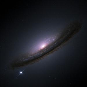 Галактика NGC 4526, находящаяся внутри пузыря Хаббла (wikipedia.org)