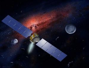 Рисунок зонда в перелете от Весты к Церере (space.com)