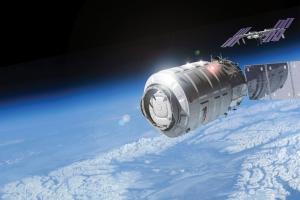 Рисунок аппарата на орбите (space.com)