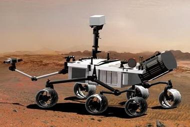 Так будет выглядеть модуль «Entry» на поверхности Марса (Изображение — nasa.gov)