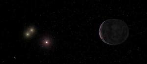 Рисунок экзопланеты (space.com)