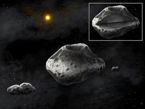 Рисунок астероидов (universetoday.com)