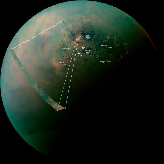 Мозаика озер северного полушария (space.com)