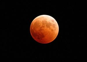Луна во время затмения Землей (wikipedia.org)