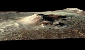 Место обнаружения отложения гидротермальных источников на Марсе (space.com)