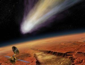 Рисунок будущего прихода кометы (newscientist.com)
