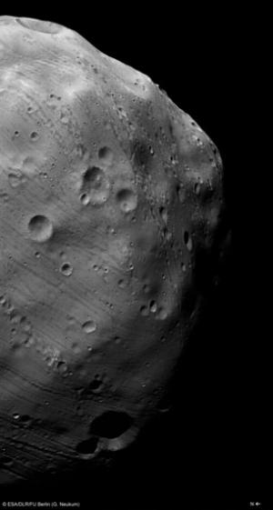 Снимок Фобоса, сделанный аппаратом Марс Экспресс (esa.int)