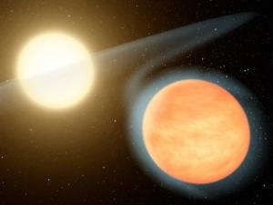 Рисунок планеты с толстой атмосферой (universetoday.com)
