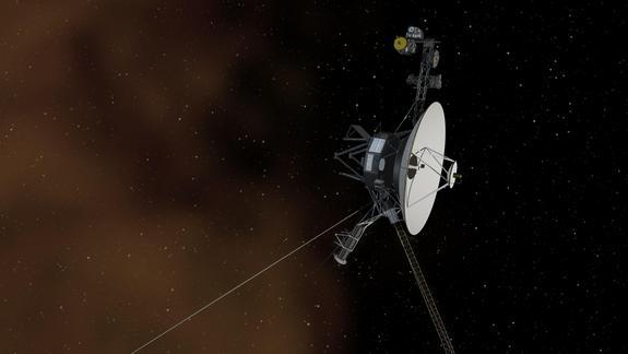 Рисунок Вояджера (space.com)