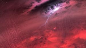 Рисунок дождя на коричневом карлике (space.com)