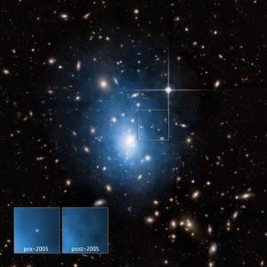 Исчезновение звезды (phys.org)