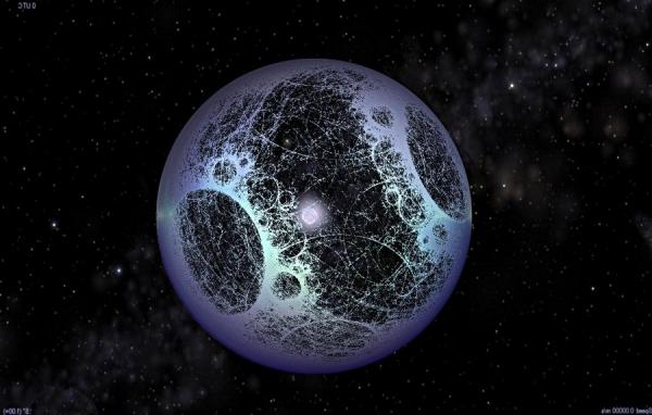 Звезда окутывается сферой Дайсона (universetoday.com)