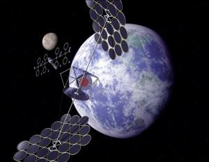Спутники, собирающие энергию светила и передающие ее на планету (universetoday.com)