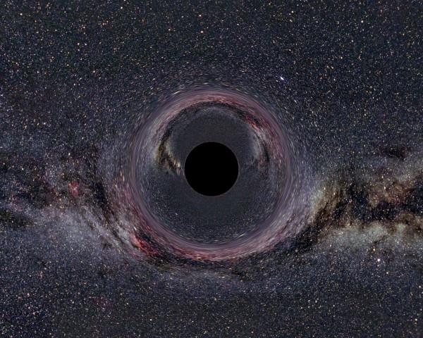 Предполагаемый классический вид горизонта событий черной дыры (scienceblogs.com)