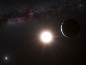 Рисунок экзопланеты (newscientist.com)