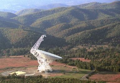 Радиообсерватория «Green Bank» (Изображение — universetoday.com)
