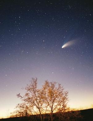 Комета Галлея-Боппа (wikipedia.org)