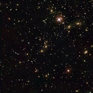 Кластер Пандоры, составное изображение двух телескопов (eso.org)