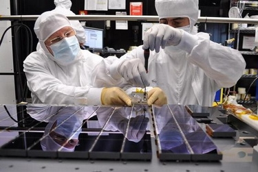 В ESA. Завершение сборки «Gaia» (Изображение — universetoday.com)